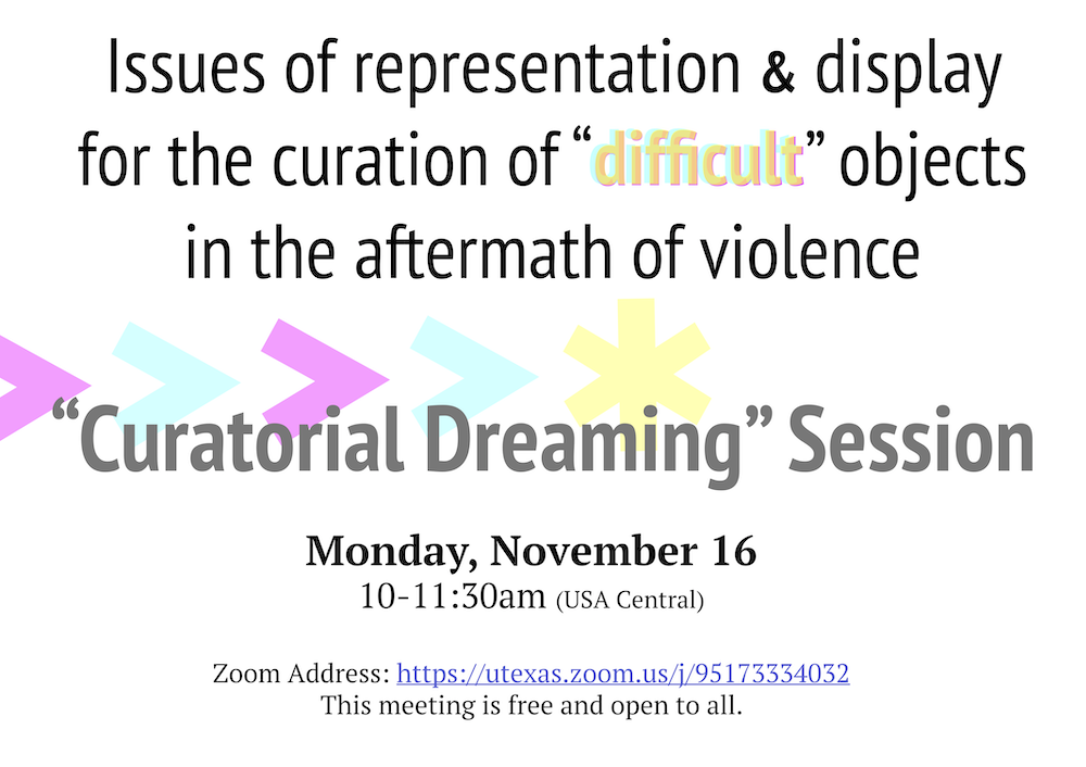Decorative banner for the curatorial dreaming session